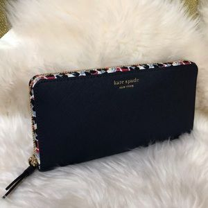Kate Spade Floral Large Continental Wallet
